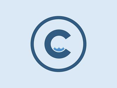 Logo In Process logo water droplet