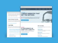 Portfolio site - new design