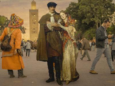 Renaissance art in morocco concept art painting art renaissance