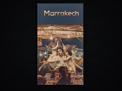 Marrakech city book cover collage art collage marrakech morocco book book cover