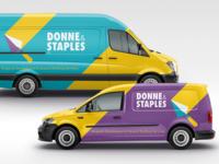 Donne & Staples Vehicle Wraps