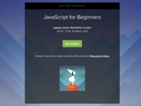 """JavaScript for Beginners"" workshop"