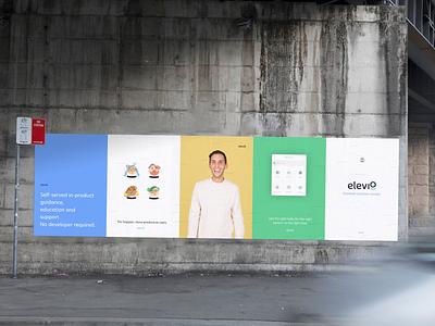 Elevio Posters concept street world mockup posters elevio