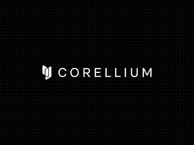 Corellium Logo technology magic arm virtualization logo design logotype logo corellium