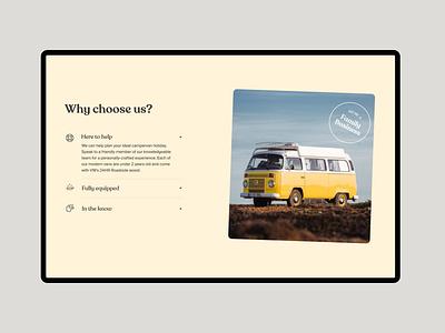 Siesta Campers Website Designs siesta campers van rental portugal europe home ipad travel