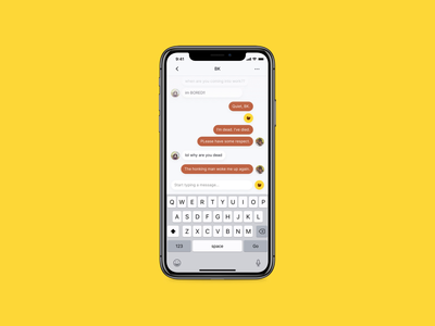 DailyUI 013 - Messenger