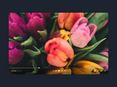 DailyUI 057 - Video Player