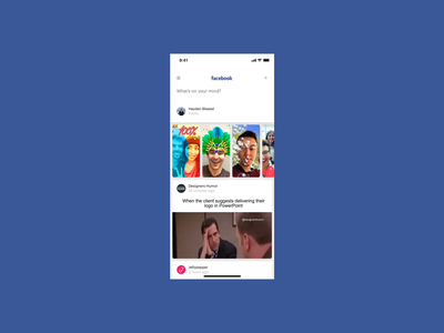 DailyUI 081 - Status Update dailyui 081 dailyui timeline friends share social facebook post status update status