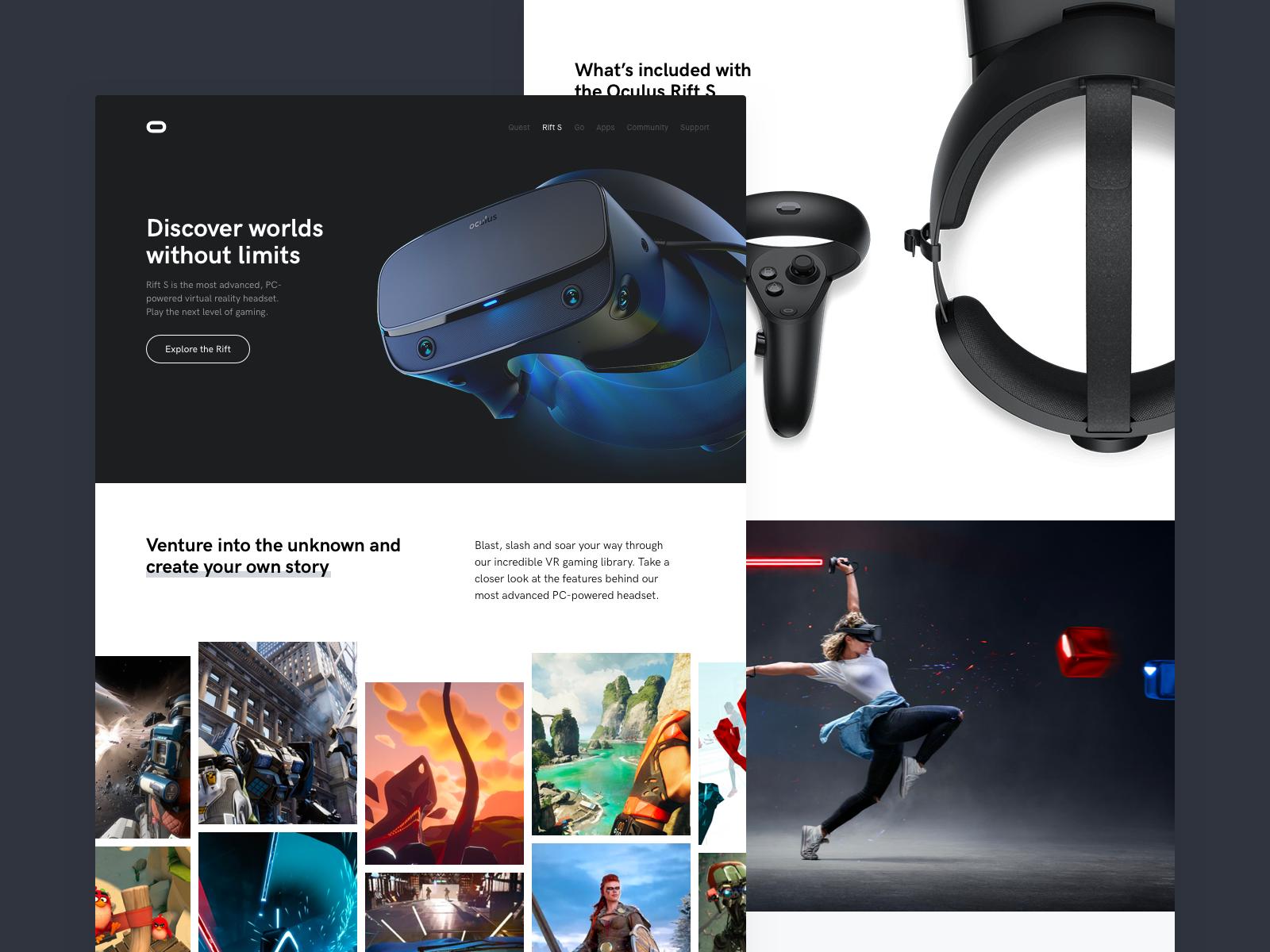 DailyUI 073 - VR by Hayden Bleasel on Dribbble