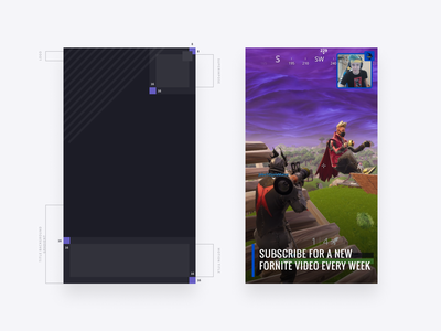 Clipchamp Autolayout stream fortnite assets stock template magic layout automatic autolayout editing video online clipchamp