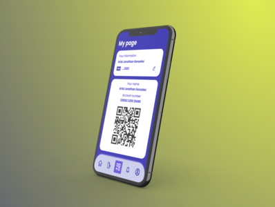 Payment App payment app cashless qrcode dailyui payment ios icon design ui figma app