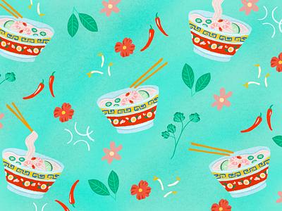 Bowl of pho pho food noodles