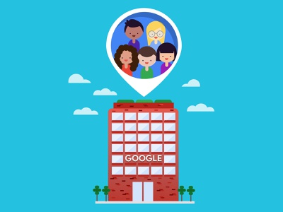 Google Life diversity google buidling people