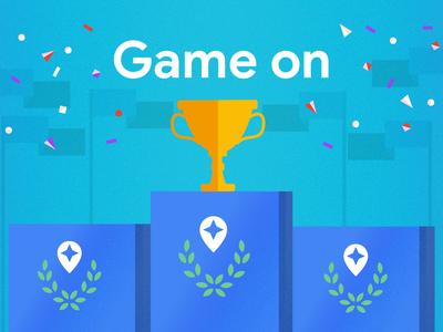 Games celebration trophy competition games