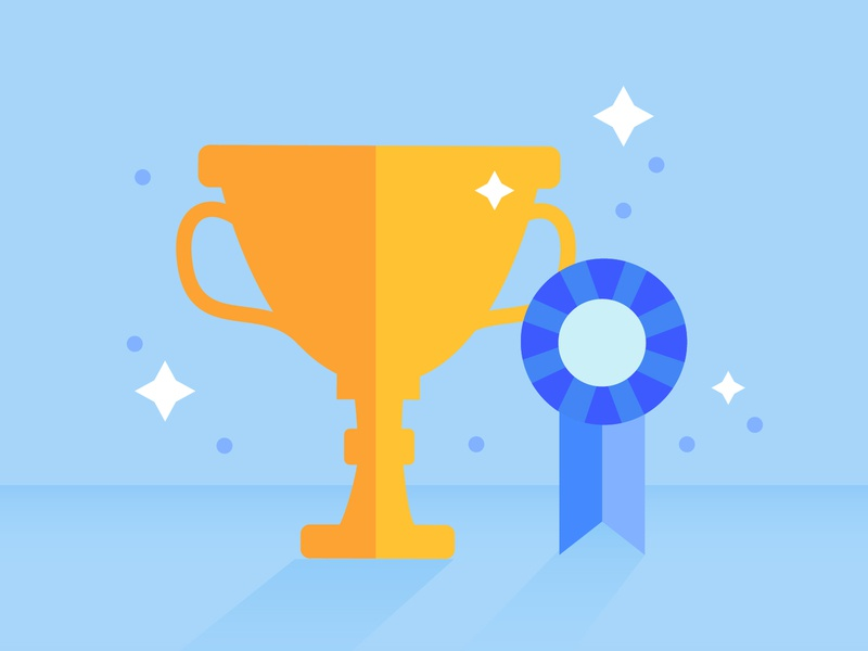 Front Page Worthy Posts stars ribbon trophy win8
