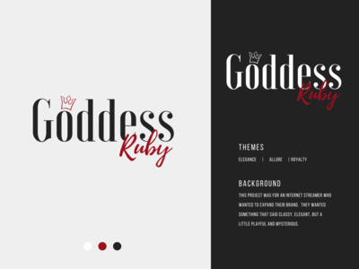 Internet Personality Brand Logo logo design streamerlogo streamer gemstone gems goddess royalty