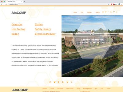alacompins com ui design website