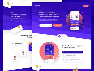 Financer Website web  design web design clean creative design finance app app finance uxdesign design uidesign webdesign ui ux creative