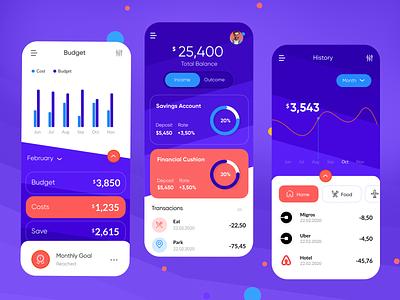 Finance App mobile app design uxui design uxdesign uidesign design webdesign ui ux creative finance app finance mobile app mobile
