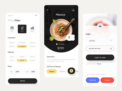 Delivery app mobile app design mobile design mobile app mobile ui uxdesign webdesign creative branding delivery app uidesign food app delivery food