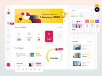 Property Dashboard (freebies XD v.)