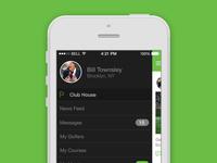 iPhone App - Drawer