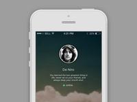 iPhone - Profile - Exploration Design