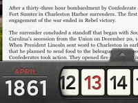 The Civil War Today - Date Drawer