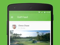 Material Golf App