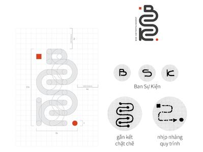 BKS Entertainment art illustrator website design logo illustration icon branding
