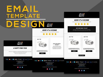 Email Template Design web design ui templates email email marketing email template email design newsletter graphics newsletter template newsletter design email campaign