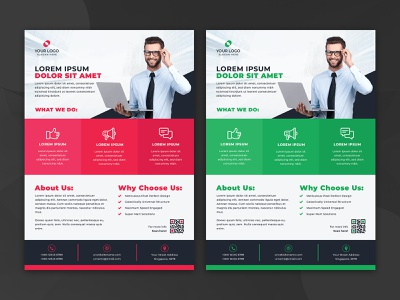 Corporate Flyer Design Template modern minimal simple advertisement creative flyer professional flyer leaflet poster print a4 template layout real state marketing agency company business corporate flyer