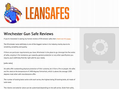 Lean Safes winchester safes