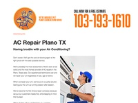 AC Repair Plano TX Site: eacrepairplano.com