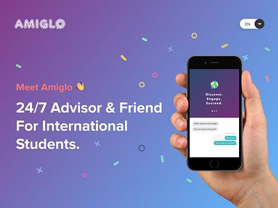 Amiglo webdesign