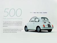 (Fiat) 500 error page