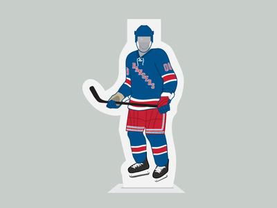 Rangers cardboard cutout