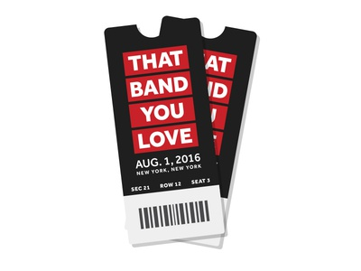 Looking for tickets to That Band You Love?