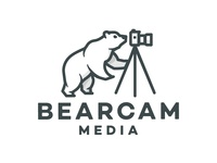 Bearcam Media Logo de oso
