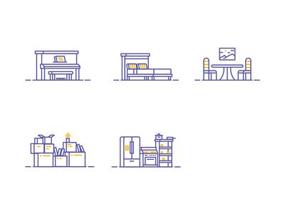 Movebox Icons