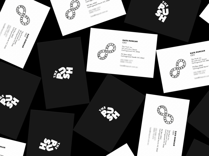 The Push Business Cards