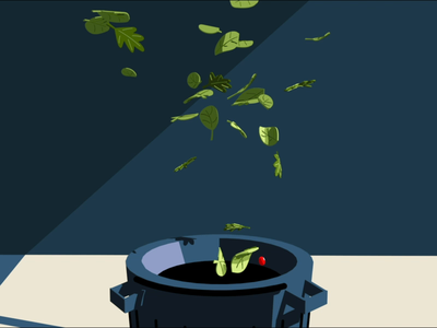 From Trashcan, to Solo Cup 3d root insurance animation c4d
