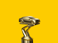 Trophy For Driving Better