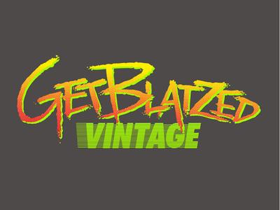 GetBlatzed Vintage Logo