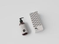 Cosmetic Mockup cosmetics packaging branding pattern