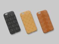 iPhone Case Mockup illustration iphone product design pattern