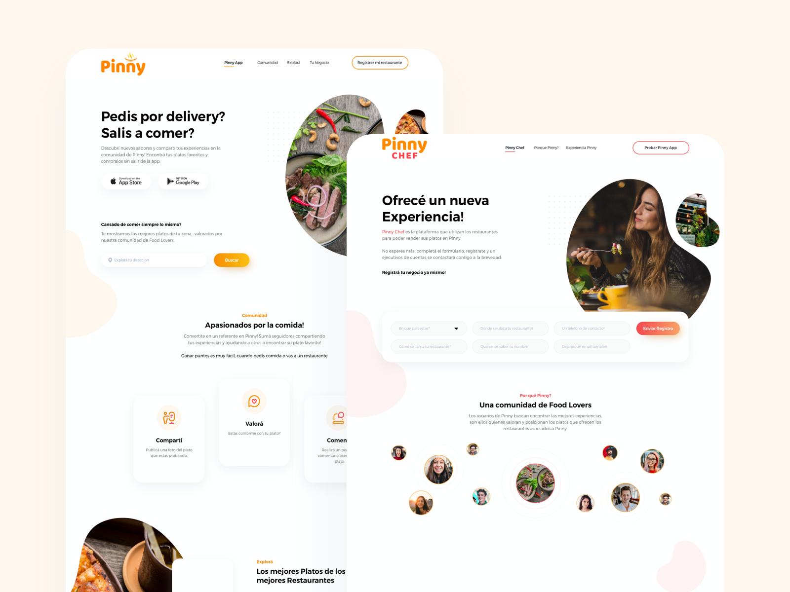 PinnyApp - App for food lovers