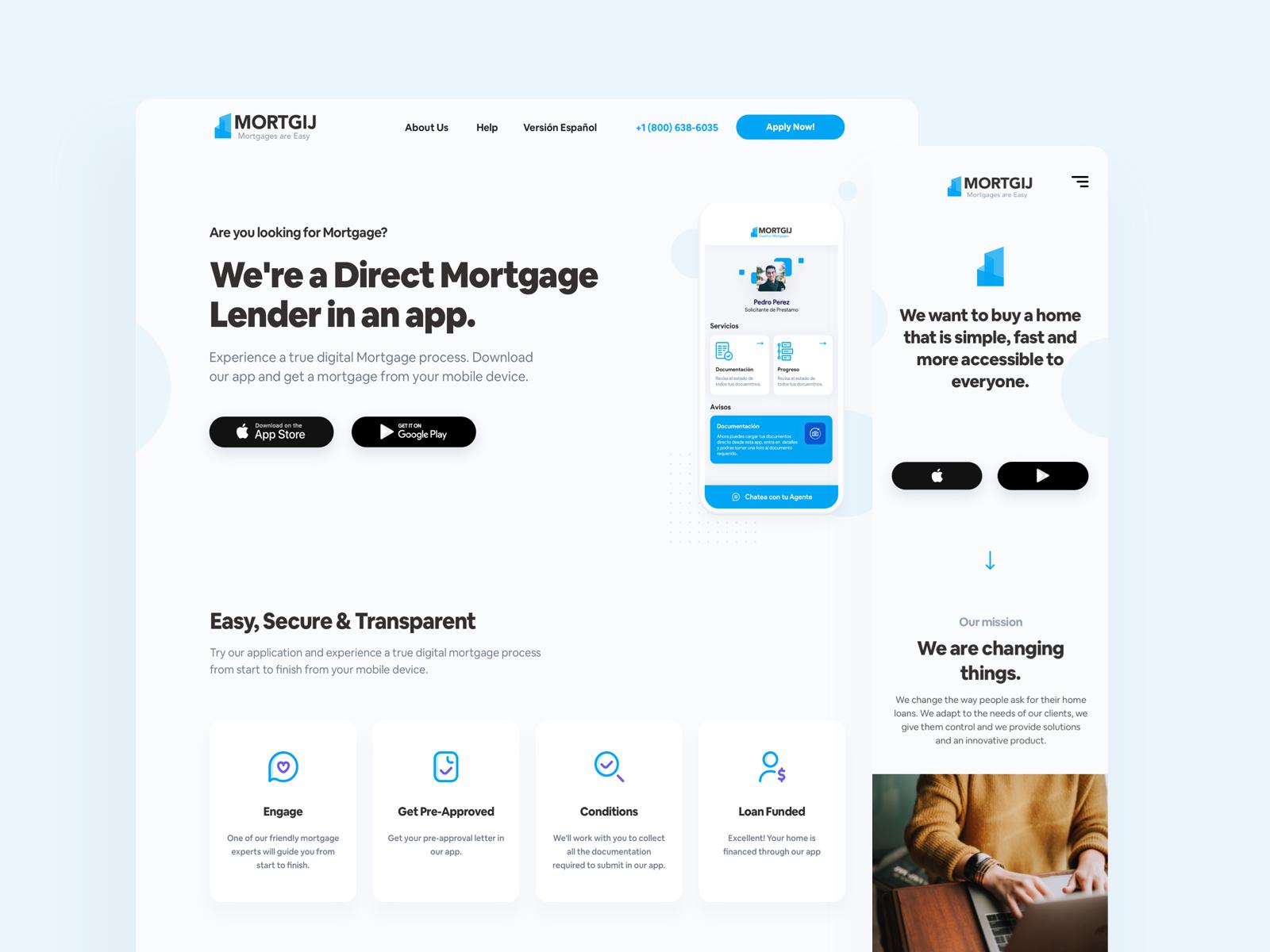 Mortgij - Morgage Lender in an App