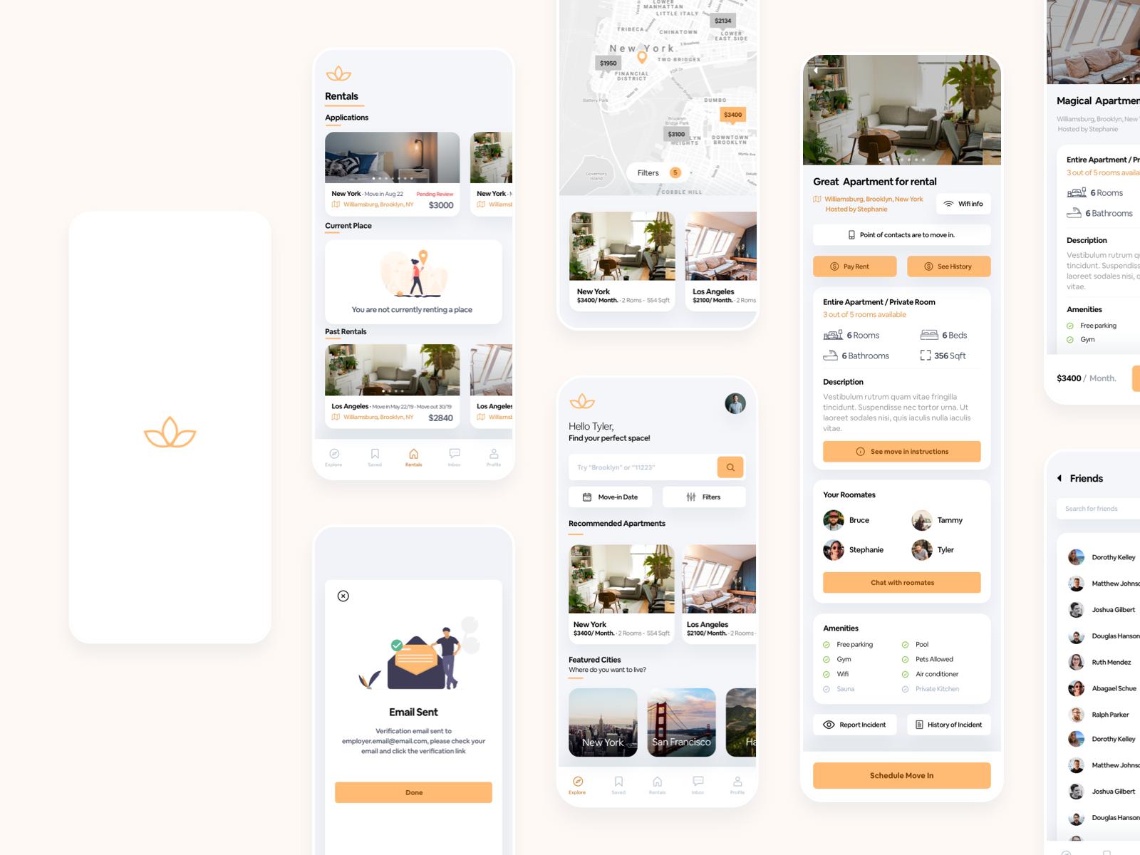 Lotus - rental online marketplace
