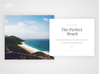 Day 008 | The Perfect Beach UI Card